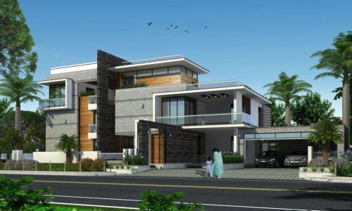 Royal De Empyrean1000 sq yards with 6000 sft  located at Shamshabad