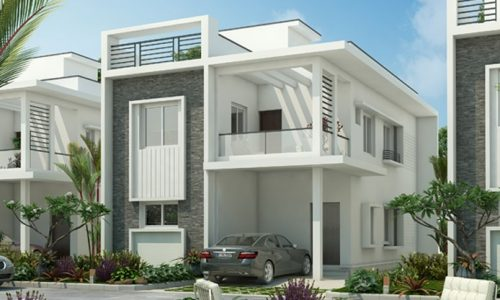 Elite Villas - Gated Villa Community at Kollur